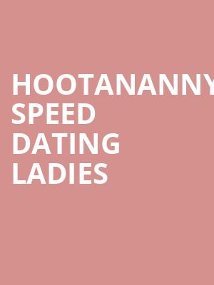 Hootananny Speed Dating ladies at Concert Hall At Suny Purchase