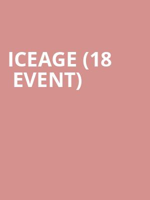 Iceage (18+ Event) at Bowery Ballroom