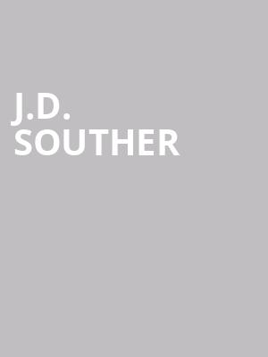 J.D. Souther at Sony Hall