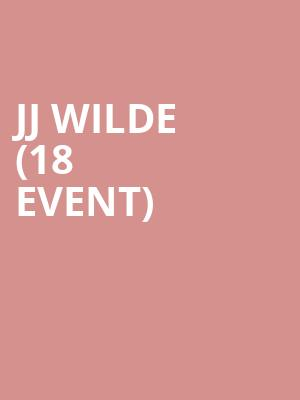 JJ Wilde (18+ Event) at Mercury Lounge