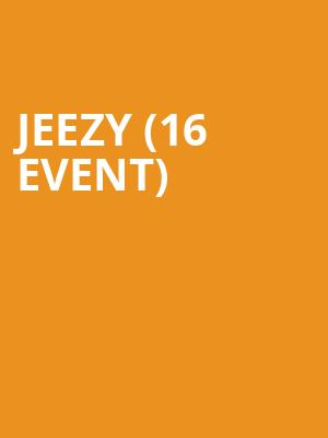 Jeezy (16+ Event) at Playstation Theater