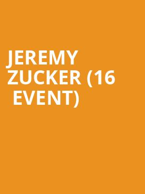 Jeremy Zucker (16+ Event) at Webster Hall