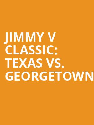 Jimmy%20V%20Classic:%20Texas%20vs.%20Georgetown%20 at Madison Square Garden
