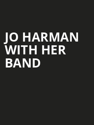 Jo Harman with her band at Wellmont Theatre