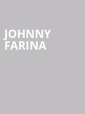 Johnny Farina at The Cutting Room