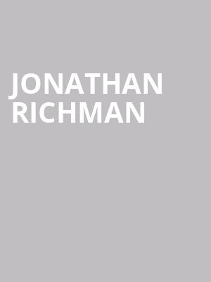 Jonathan%20Richman at Bowery Ballroom