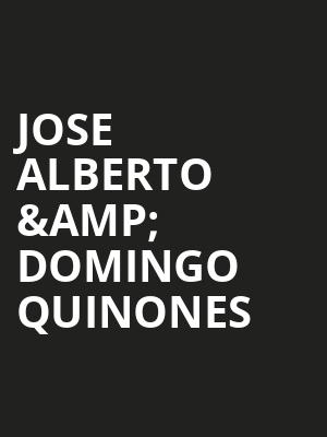 Jose Alberto %26 Domingo Quinones at B.B. King Blues Club