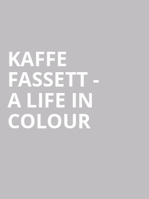 Kaffe Fassett - A Life in Colour at The Producers Club