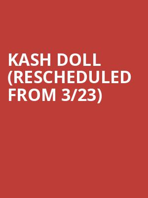 Kash Doll (Rescheduled from 3/23) at Gramercy Theatre