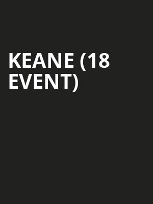 Keane (18+ Event) at Bowery Ballroom