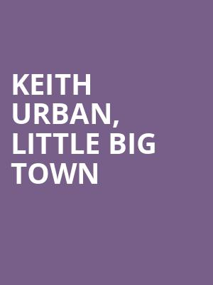 Keith%20Urban,%20Little%20Big%20Town%20 at Jane Street Theater
