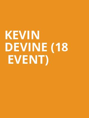Kevin Devine (18+ Event) at Bowery Ballroom