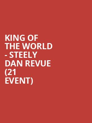 King of the World - Steely Dan Revue (21+ Event) at The Cutting Room