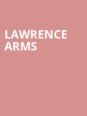 Lawrence Arms at Gramercy Theatre