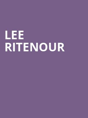 Lee Ritenour at Chase Room