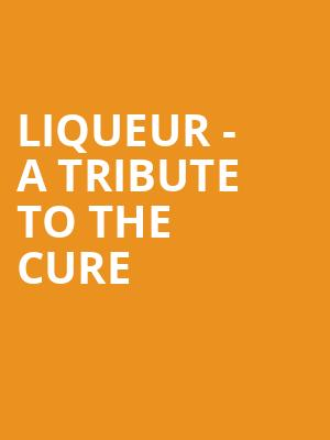 Liqueur - A Tribute to The Cure at Concert Hall At Suny Purchase