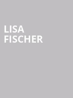 Lisa Fischer at Sony Hall