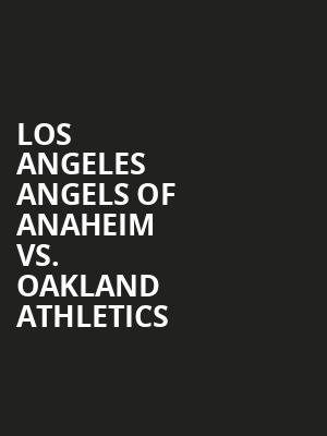 Los%20Angeles%20Angels%20of%20Anaheim%20vs.%20Oakland%20Athletics at La MaMa Theater