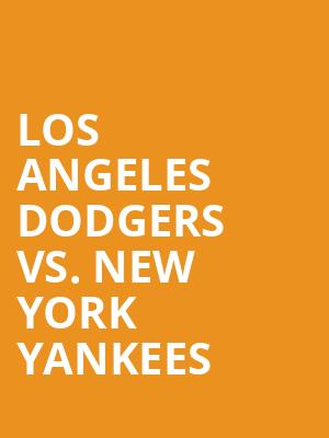 Los%20Angeles%20Dodgers%20vs.%20New%20York%20Yankees at 14th Street Y Theater