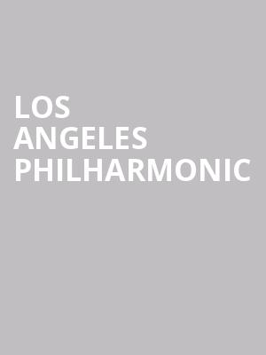 Los Angeles Philharmonic at Avery Fisher Hall