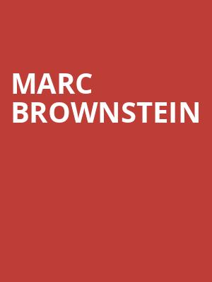 Marc Brownstein at Sony Hall