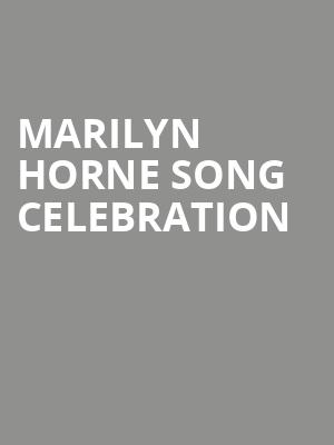 Marilyn%20Horne%20Song%20Celebration at Judy & Arthur Zankel Hall