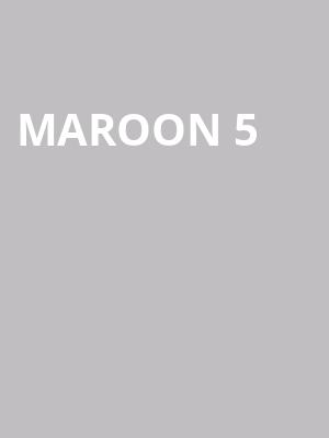 Maroon%205%20 at 13th Street Repertory Theater