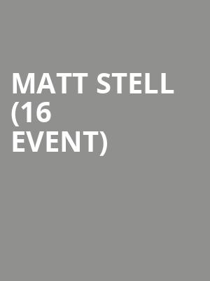 Matt Stell (16+ Event) at Gramercy Theatre