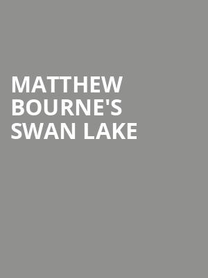 Matthew Bourne's Swan Lake at New York City Center Stage I