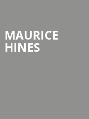 Maurice Hines at Chase Room