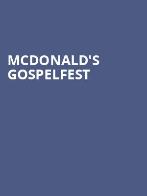 Mcdonald's%20Gospelfest at Prudential Center