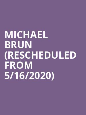 Michael Brun (Rescheduled from 5/16/2020) at The Rooftop at Pier 17