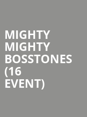 Mighty Mighty Bosstones (16+ Event) at Webster Hall