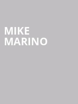 Mike Marino at Victoria Theater