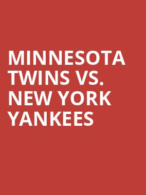 Minnesota%20Twins%20vs.%20New%20York%20Yankees at 14th Street Y Theater