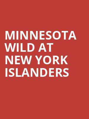 Minnesota Wild at New York Islanders at Barclays Center
