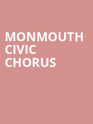 Monmouth Civic Chorus at Hackensack Meridian Health Theatre