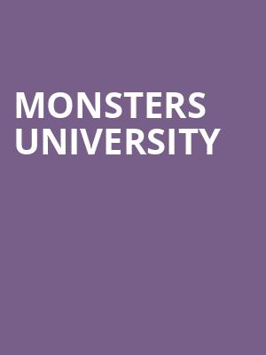 Monsters University at George Street Playhouse