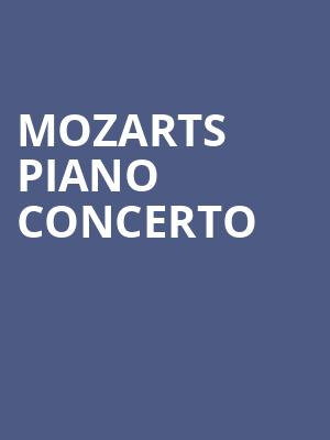 Mozarts Piano Concerto at Prudential Hall