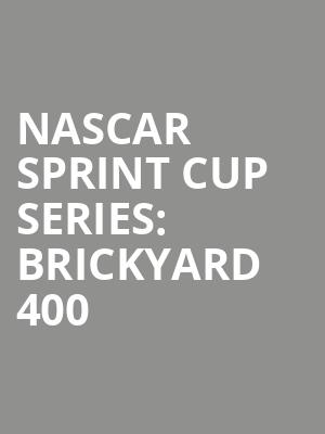 NASCAR%20Sprint%20Cup%20Series:%20Brickyard%20400 at La MaMa Theater