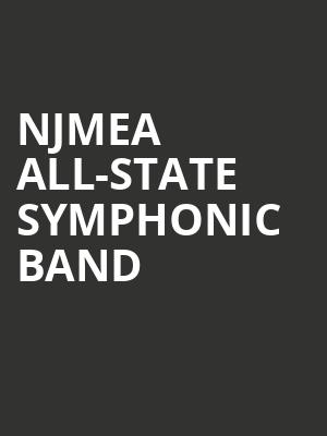 NJMEA All-State Symphonic Band at Chase Room
