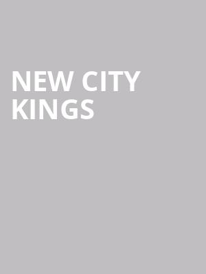 New City Kings at Bergen Performing Arts Center
