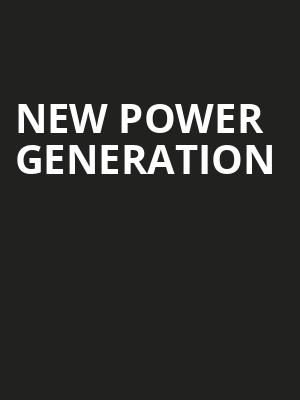 New Power Generation at Town Hall Theater