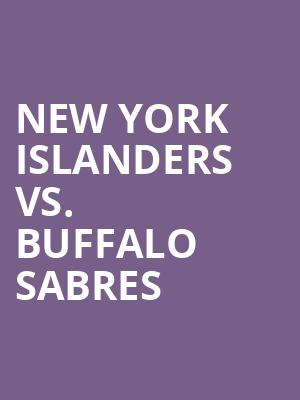 New%20York%20Islanders%20vs.%20Buffalo%20Sabres at Nassau Coliseum