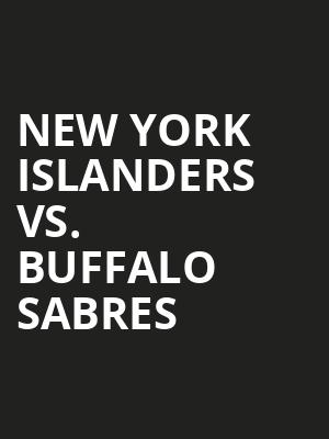 New York Islanders vs. Buffalo Sabres at Nassau Coliseum