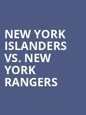 New%20York%20Islanders%20vs.%20New%20York%20Rangers at Nassau Coliseum