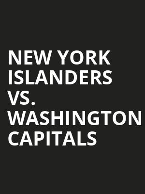 New York Islanders vs. Washington Capitals at Nassau Coliseum