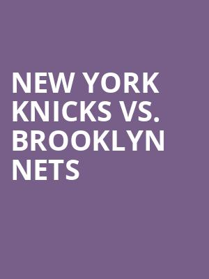 New%20York%20Knicks%20vs.%20Brooklyn%20Nets at Madison Square Garden