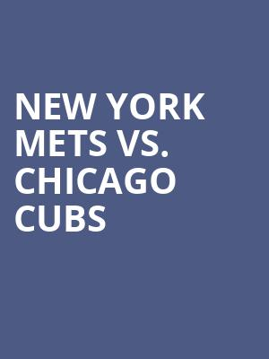 New%20York%20Mets%20vs.%20Chicago%20Cubs at Citi Field