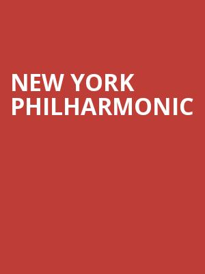 New York Philharmonic at Avery Fisher Hall